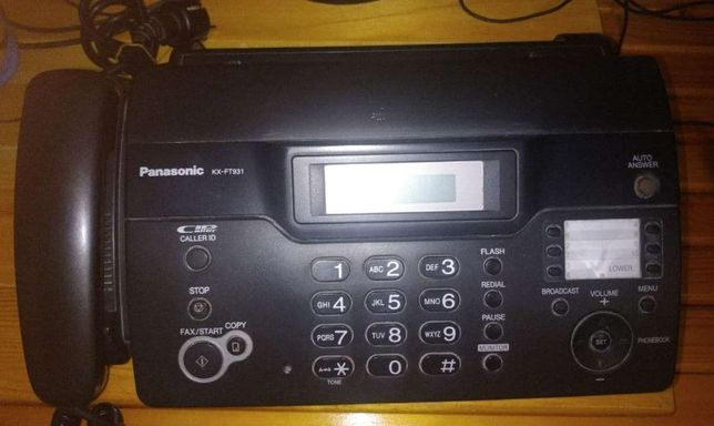 Факс-телефон Panasonic KX-FT 931 СХ
