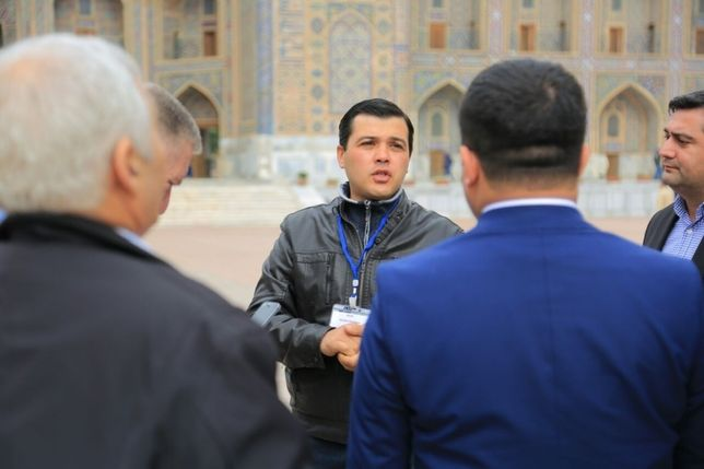 Samarkand City Tour (гид,туризм).