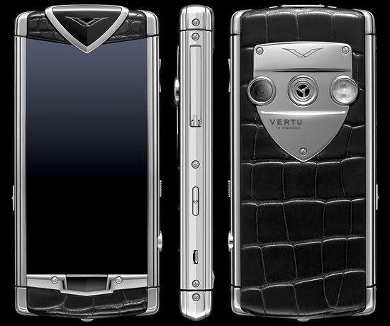 Vertu constelation touch alligator