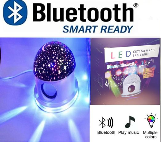 Proyektor svitilnik Bluetooth, MP3