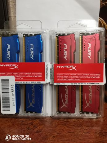 Kingston Fury HyperX DDR3 8gb 1600mhz