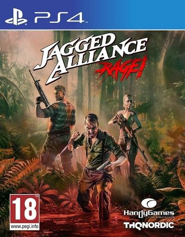 Диск Jagged Alliance: Rage (PS4)