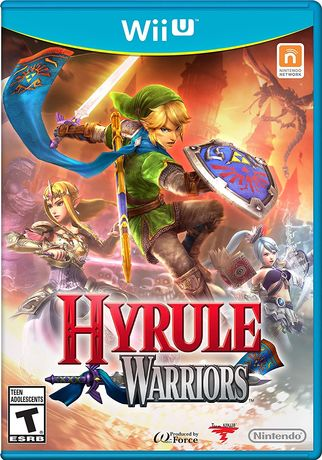 Wii U Hyrule warriors disc. European region