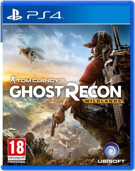 Диск Tom Clancy's Ghost Recon Wildlands PS4 Toshkent - tasvir 1