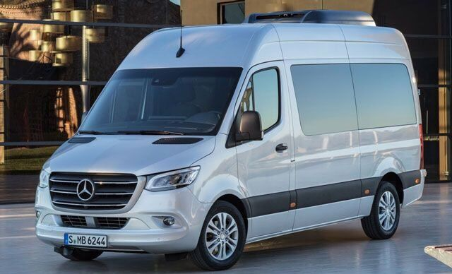 Бизнес класс Mercedes-Benz Sprinter