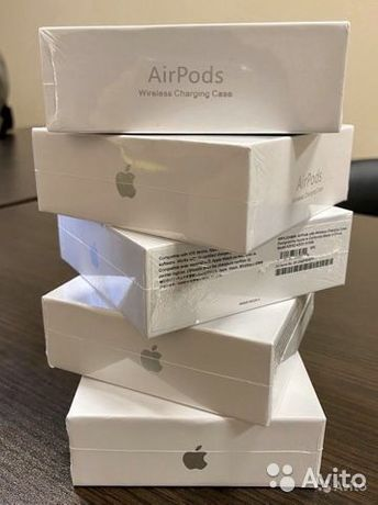 Airpods 2.2  Wireless  New Orginal  GaranTiya (1oy)