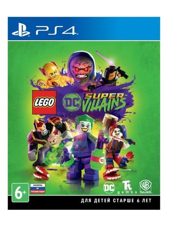 LEGO DC Super-Villains для PS4 от WB Games