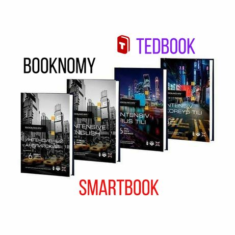 BOOKNOMY, TEDBOOK, SMARTBOOK, GET Club dan intensiv kitoblar
