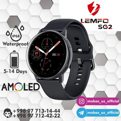 АКЦИЯ! Смарт-Часы Lemfo SG2 Smart Watch Samsung Active 2