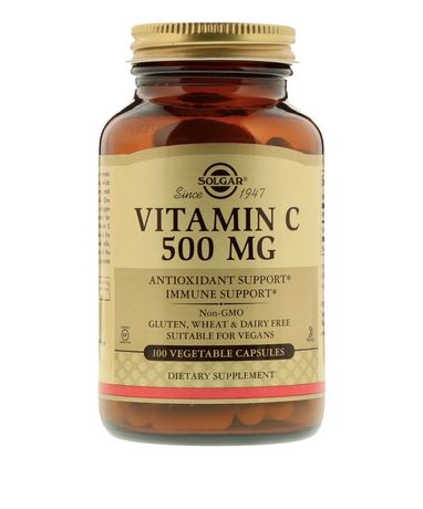 Solgar Vitamin C 500mg витамин Ц