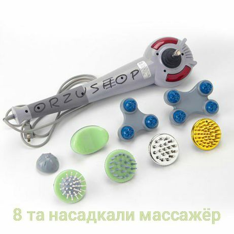 MASSAJ uchun 8 talik universal va original MAGIC MASSAGER.³⁰