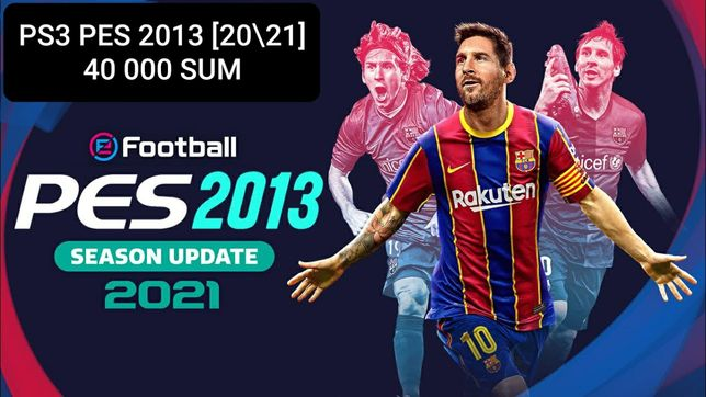 Pes 2013 [20/21] new patch ps3