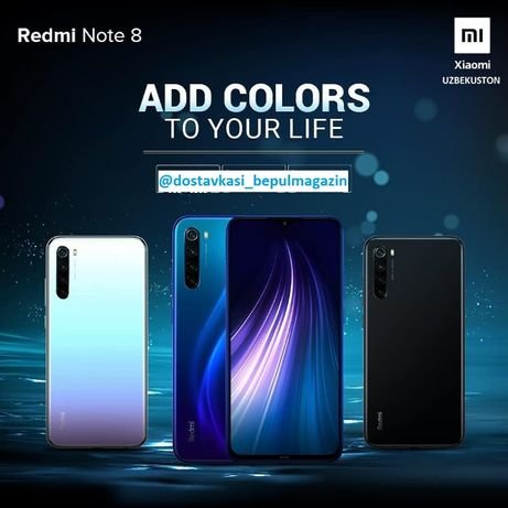 Xiaomi redmi note 8 4/64