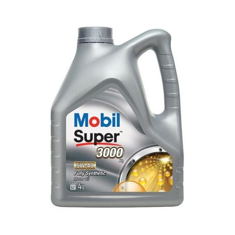 Mobil Super 3000 X1 5W/40 (4л.) Моторное масло
