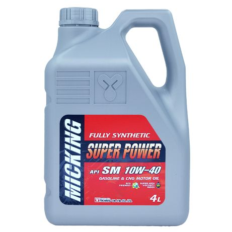 Моторное масло Micking SUPER POWER SM 10w40: GENTRA, COBALT, SPRAK