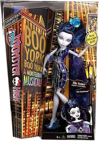 Кукла Monster High Boo York Elle Eedee от Mattel