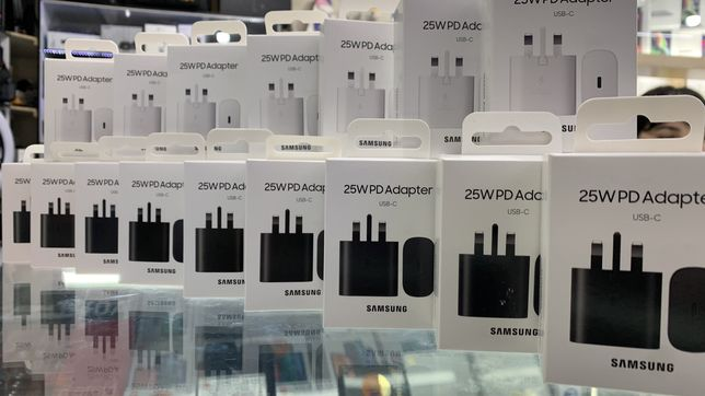 Samsung Adapter 25W. S20 s21 s21 ultra Orginal super Fast charger