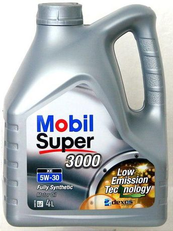 Mobil Super 3000 XE 5W-30 (4л.) Моторное масло