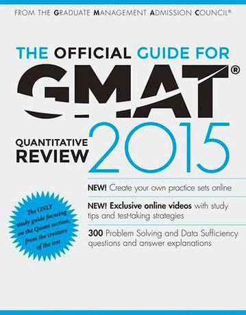 Wiley - The Official Guide for GMAT Quantitative Review 2015