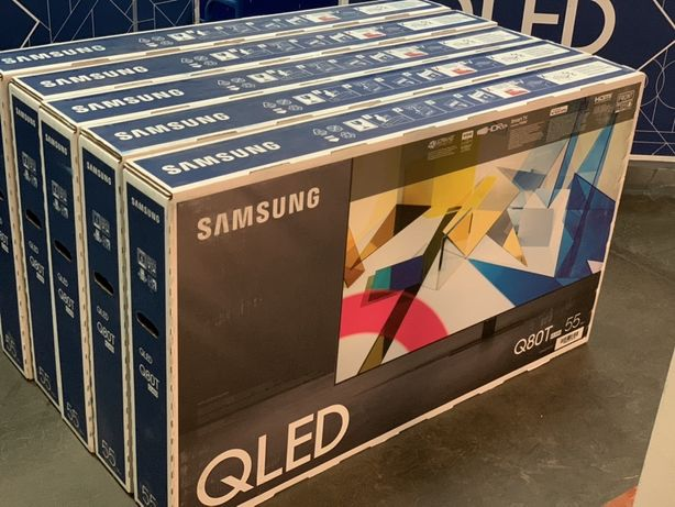 Продам новый QLED TV Samsung 55QE80TAU premium Ultra 4K Smart TV!