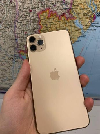 Iphone 11 pro max gold 64 ideal