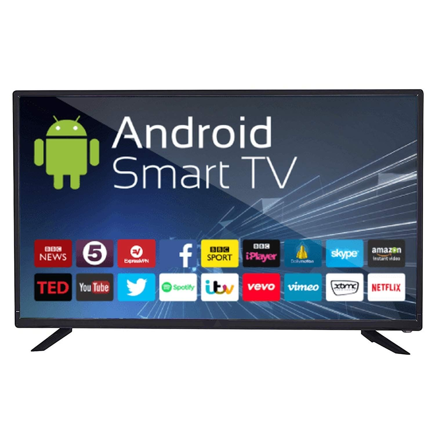43 SMART + 4K  + WiFi + android
