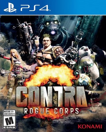 Диск Contra: Rogue Corps (PS4)