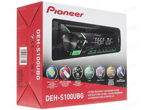 Автозвук магнитофон Pioneer(Bluetooth/USB/AUX/CD/MP3/FM Radio))