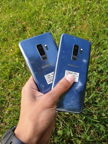 Samsung Galaxy S9 PLUS. OzU 6/64/256 GB/Coral Blue IDEAL. 1 OY Kafolat