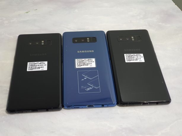 Samsumg Galaxy Note 8 Ideal 256/64 GB Blue Bleck Aksiy
