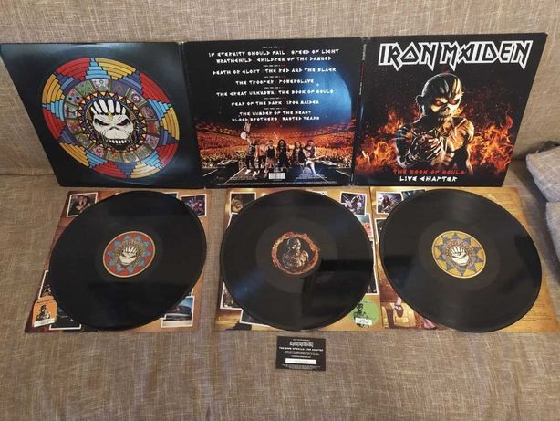 Iron Maiden – The Book Of Souls: Live Chapter. 3 LP