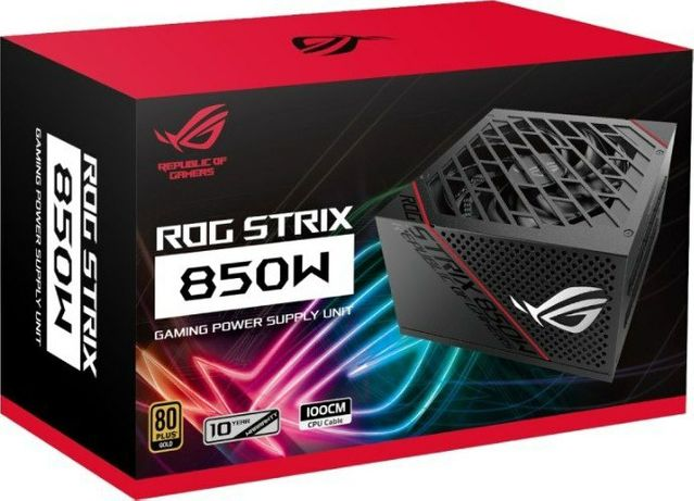 Хит!Блок питания ASUS ROG STRIX 850W GOLD (превосходное охлаждение)