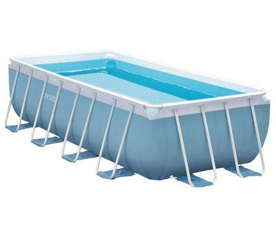 Каркасный бассейн Intex 28316 Rectangular Prism Frame Pool 400x200x100