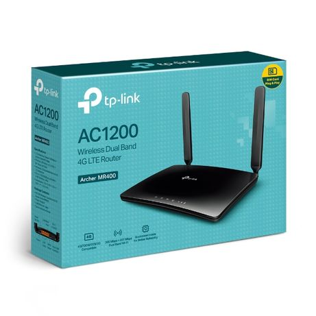 Wi-Fi роутер LTE 4G + OPTIKA (Universal) - TP-LINK Archer MR400 AC1200