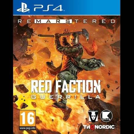 Диск Red Faction Guerrilla ReMarstered PS4