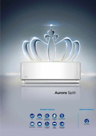 Кондиционер Aurora *Low Voltage 9 до 30 м2