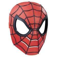 Marvel Ultimate Spider-Man Classic Spider Man Halloween Mask Youth Siz