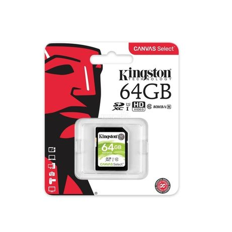 64 Gb Original Fotoaparat Chiplari **Бренд Kingston**