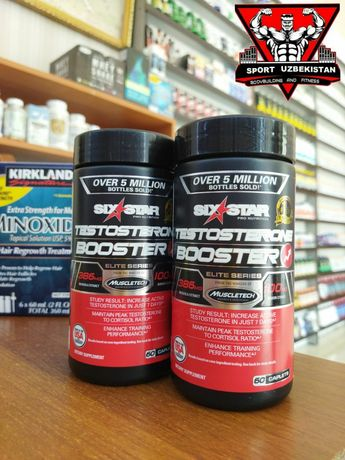Six Star Testosterone Booster 60 caplets