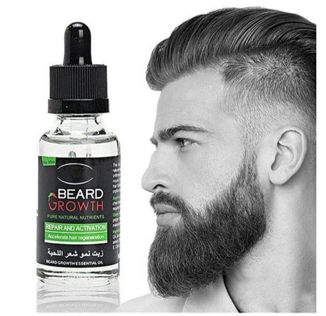 Beard oil soqol o'stirish uchun krem, soch soqol o'stirish Pop