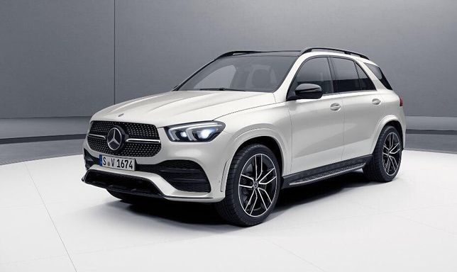 Новый Mercedes-Benz GLE (V167)