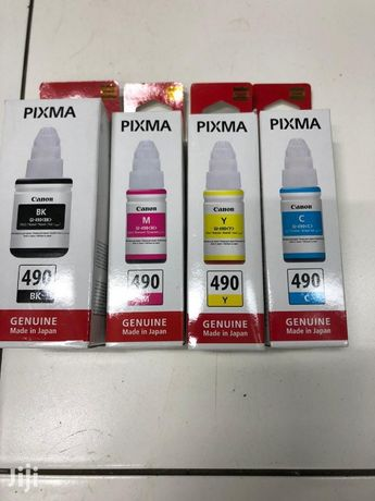 Canon ink original 490 чернила на кэнон G серии