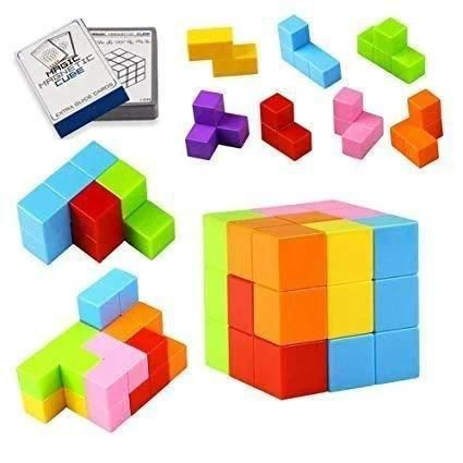 Магнитный куб 3D puzzle 3D Magic Magnetic Cube