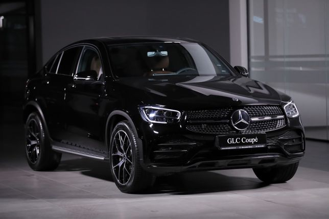 Новый! Mercedes-Benz GLC Coupe
