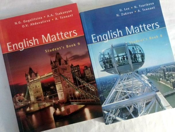 English Matters. Student's Book 8/9